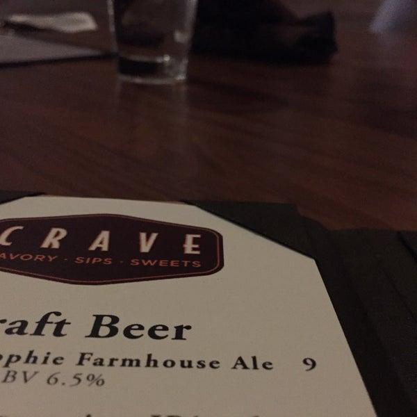 Photo taken at Crave Dessert Bar & Lounge by Devin R. on 4/26/2015