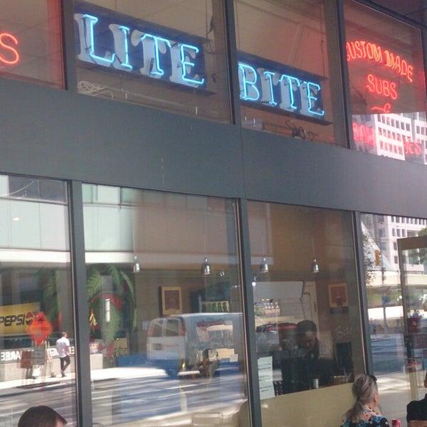 Photo taken at Lite Bite by Scott W. on 7/24/2014