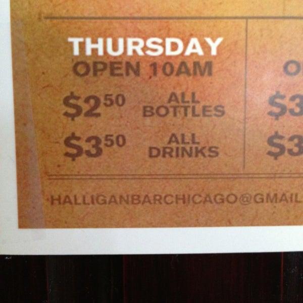 Photo taken at Halligan Bar by Drea V. on 3/21/2013