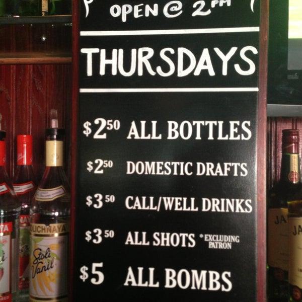 Photo taken at Halligan Bar by Drea V. on 7/25/2013