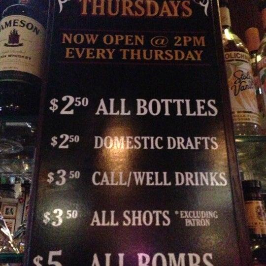 Photo taken at Halligan Bar by Drea V. on 12/14/2012