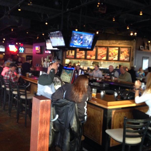 Photo taken at Sak's Sports Bar by Jason G. on 3/6/2015