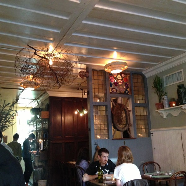 Photo taken at Vinegar Hill House by Nils M. on 5/4/2013