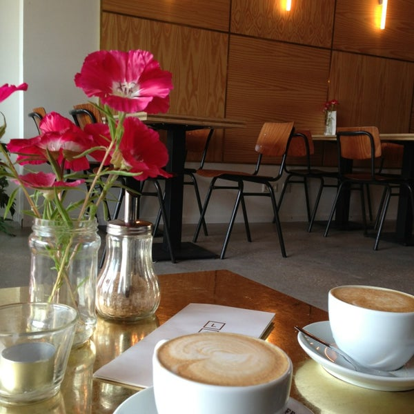 Photo taken at Lokaal Espresso by Gabriela A. on 6/22/2014