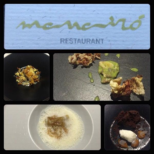 Excelente Menu Degustacion con una gran merecida Estrella Michelin. Todo increible!