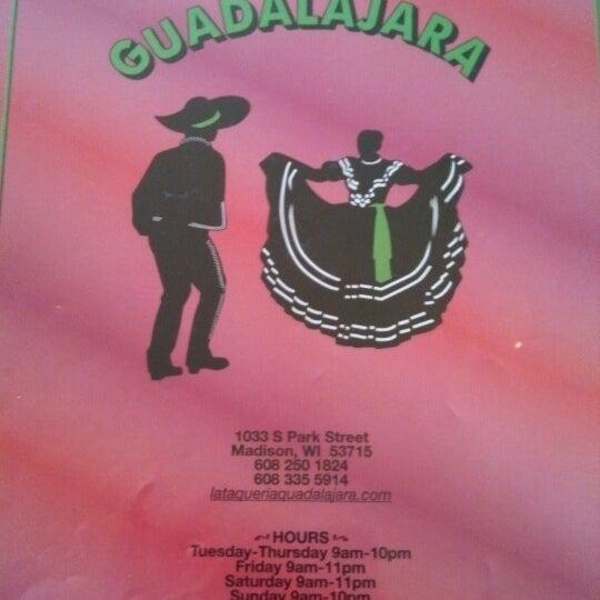 Photo taken at Taquería Guadalajara by Tony R. on 12/20/2013