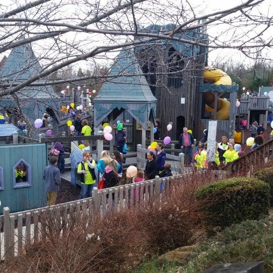 Photo taken at Annie's Playground by Lisa L. on 4/4/2015
