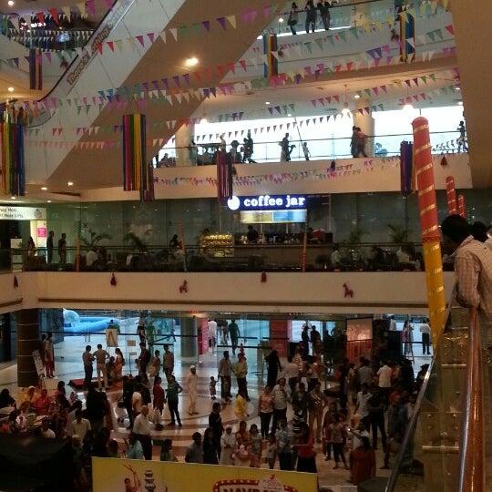 Photo taken at Kumar Pacific Mall by Krishna K. on 9/28/2014