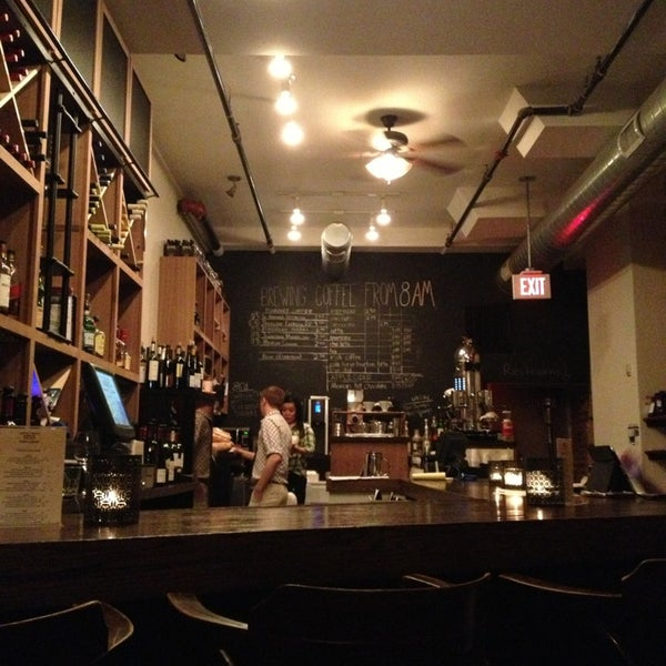 Photo taken at 1215 Wine Bar & Coffee Lab by Elyse E. on 1/16/2013