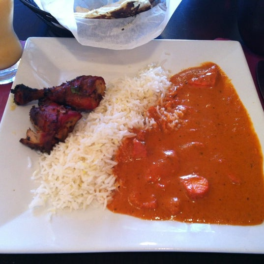Photo taken at Saffron Indian Cuisine by Jun C. on 3/30/2013