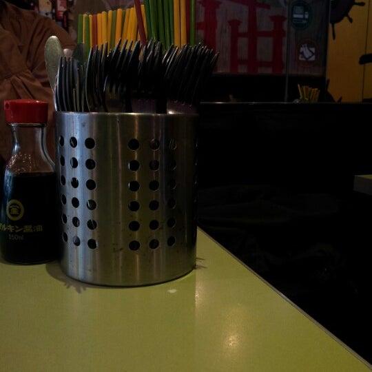 Photo taken at Gigi Sushi Bar by †MuMu I. on 11/18/2012