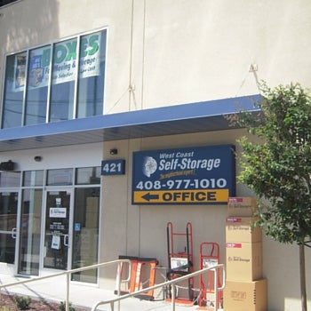 Photo Taken At West Coast Self Storage San Jose By West Coast Self Storage