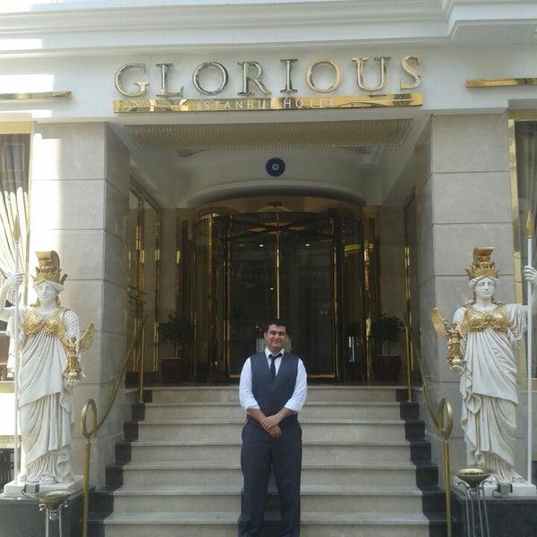 7/20/2014 tarihinde Ozan Ö.ziyaretçi tarafından Glorious Hotel Istanbul'de çekilen fotoğraf