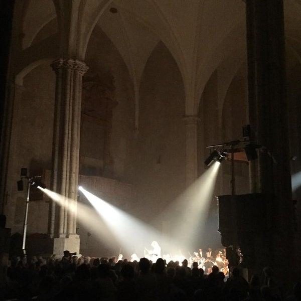 Photo taken at Basilica di San Fortunato by Doris S. on 8/30/2015
