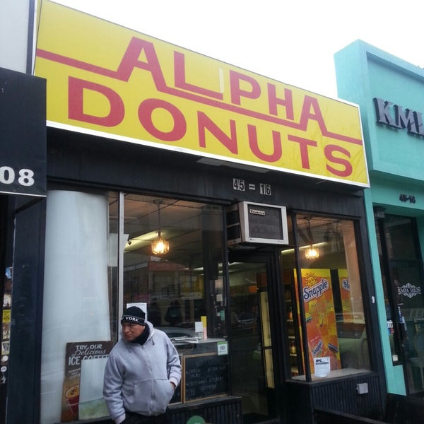 Photo taken at Alpha Donuts by Tyson H. on 11/17/2014
