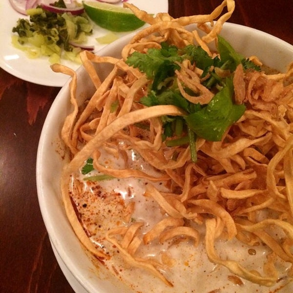 Photo taken at Pam Real Thai by Jeff W. on 10/17/2014