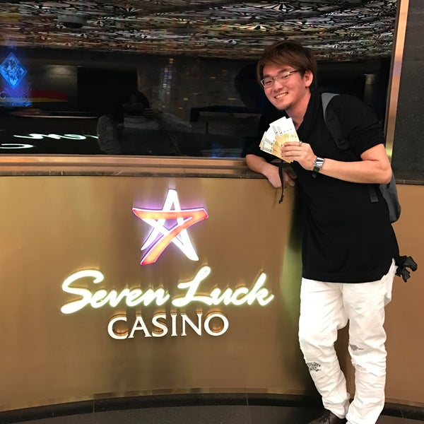 Photo taken at Seven Luck Casino by NAOKI on 11/25/2016