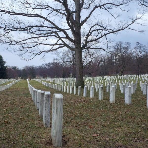 Photo taken at Arlington National Cemetery by eSpacioShop .. on 2/21/2014
