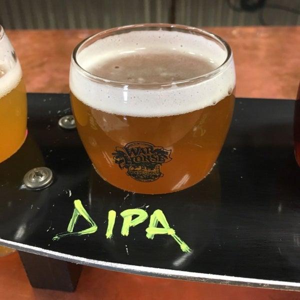Photo taken at War Horse Brewery by Ken P. on 3/13/2017