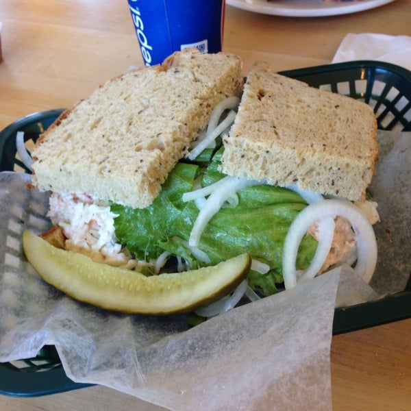 Photo taken at Big G's Deli by Joel D. on 9/19/2013