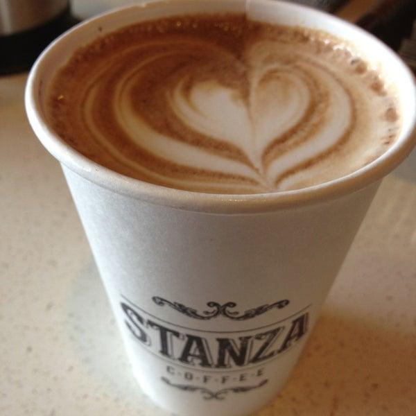 Photo taken at Stanza Coffee Bar by Nina on 3/7/2013