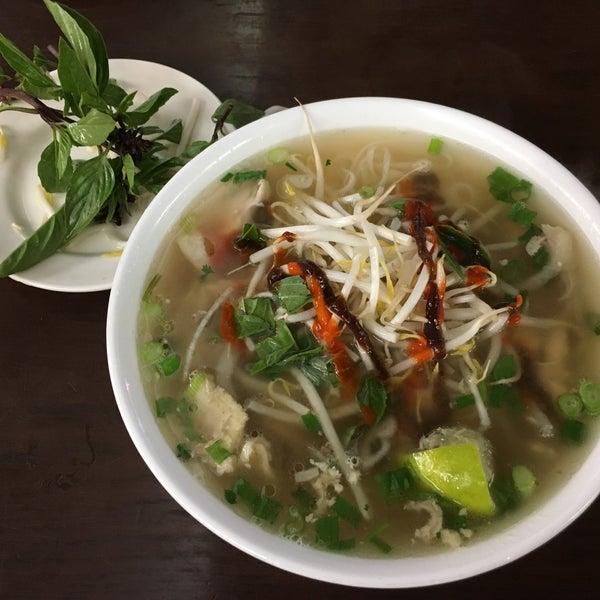 Photo taken at Pho Bac by Nam N. on 4/30/2017