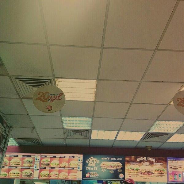 Photo taken at Burger King by Emre Ç. on 12/9/2015