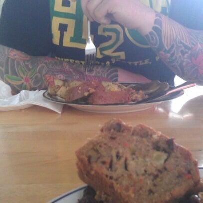 Photo taken at Sugar Plum Vegan Cafe by Suzee ✂ Q. on 9/23/2012