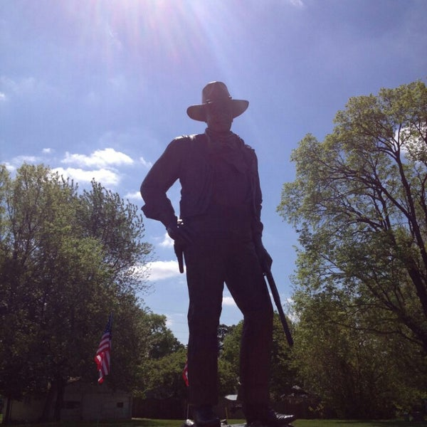 Photo taken at John Wayne Birthplace Museum by Shaun W. on 5/24/2013