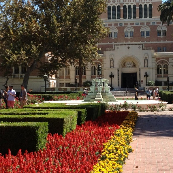 Photo taken at Doheny Memorial Library (DML) by marje s. on 8/29/2013