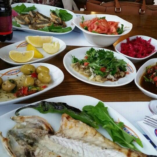 11/27/2015 tarihinde Tuğçe M.ziyaretçi tarafından Ekonomik Balık Restaurant Avanos'de çekilen fotoğraf