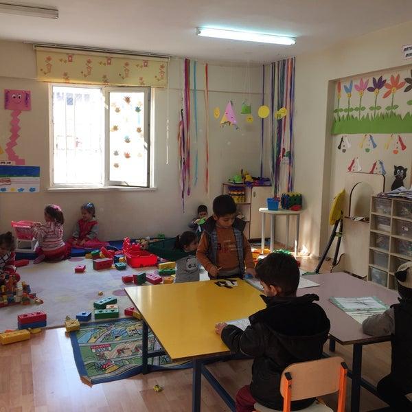 Photo taken at Mustafa Vedat Mutlu Ortaokulu by Ayşegül S. on 2/10/2017
