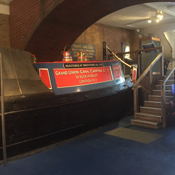 Photo taken at London Canal Museum by Ben S. on 2/11/2016