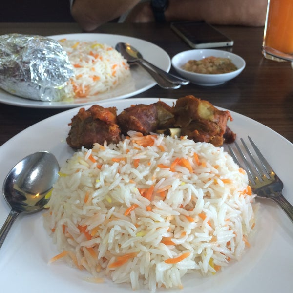 Photo taken at Restoran Dallah Nasi Arab by Erika N. on 1/2/2016