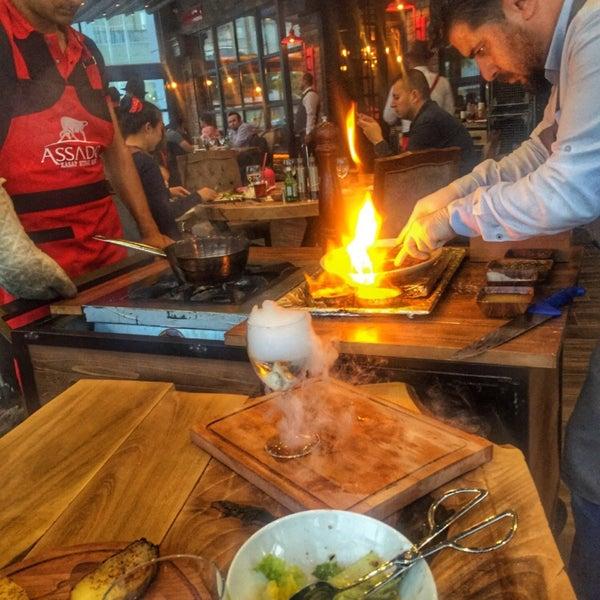 10/13/2018 tarihinde V E Y S E Lziyaretçi tarafından Assado Steak House'de çekilen fotoğraf