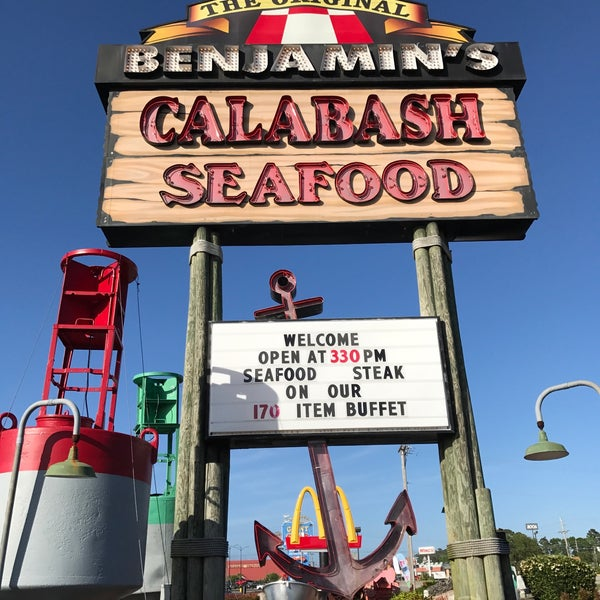 Photo taken at The Original Benjamin's Calabash Seafood by Brent F. on 4/30/2017