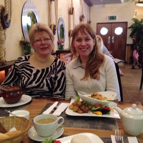 Снимок сделан в Admiral Restaurant пользователем Konstantins G. 2/16/2014