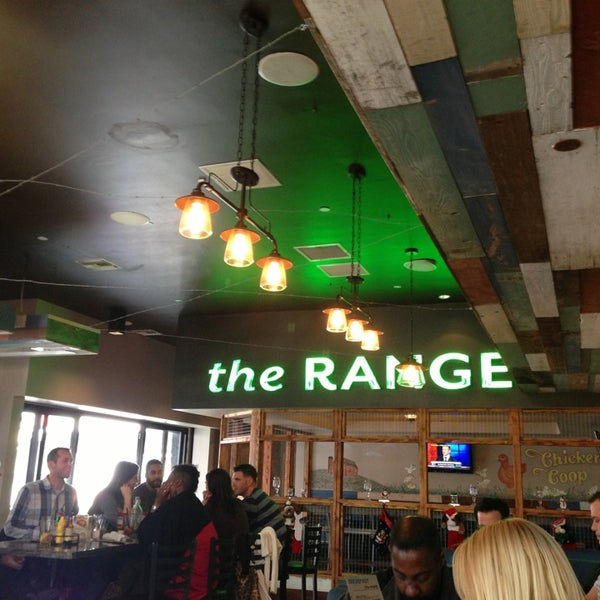 Photo taken at The Range Kitchen & Cocktails by Chris S. on 1/1/2013