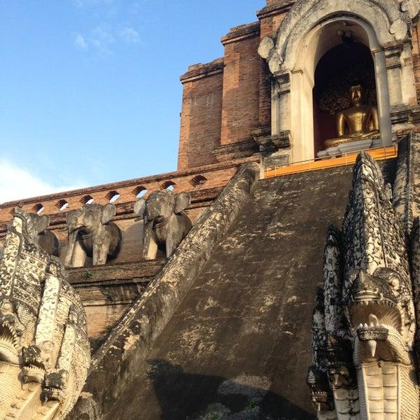 Photo taken at Wat Chedi Luang Varavihara by Heath S. on 1/3/2013