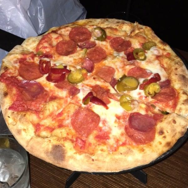 Photo taken at Tartini Pizzeria & Spaghetteria by Angela on 2/2/2016