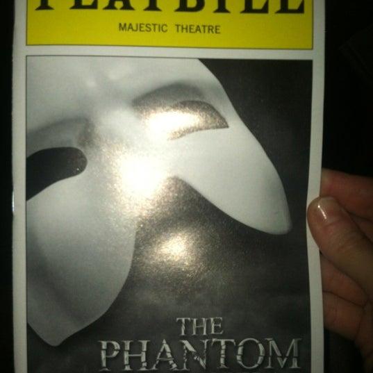 Foto tirada no(a) Majestic Theatre por Sherry W. em 10/25/2012