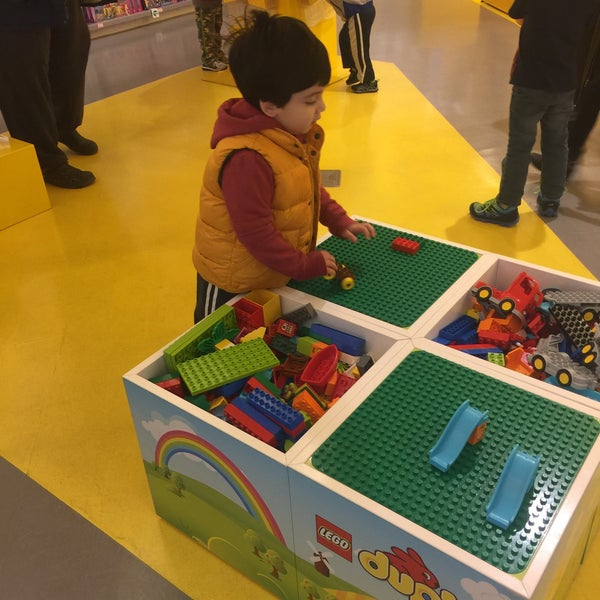 Photo taken at The LEGO Store by King A. on 4/2/2016