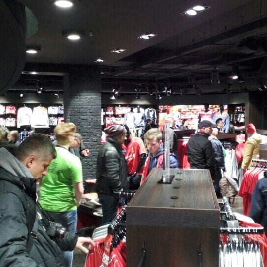 Photo taken at Liverpool FC Official Club Store by Omar A. on 5/2/2015