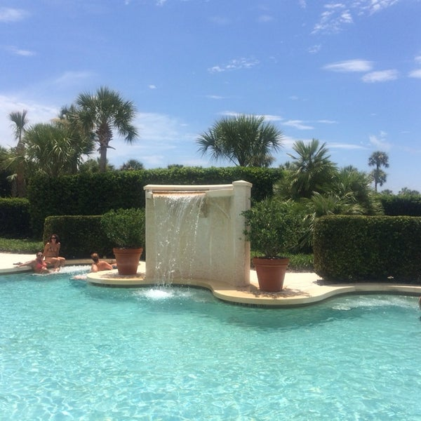 Photo taken at The Spa at Ponte Vedra Inn & Club by Allison T. on 7/13/2014