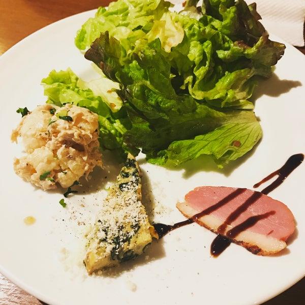 Das Foto wurde bei cucina italiana aria von ゆそ am 3/26/2017 aufgenommen