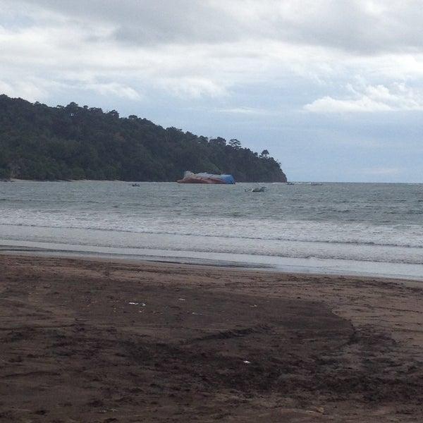 Photo taken at Pantai Barat Pangandaran by Ari T. on 12/7/2016