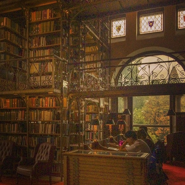Photo taken at Uris Library by Sandy M. on 9/13/2014