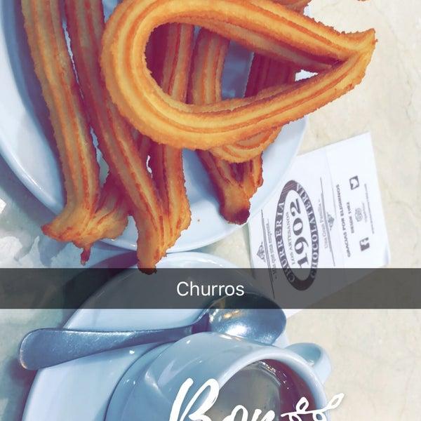 I like the churros perfecto 👌🏻