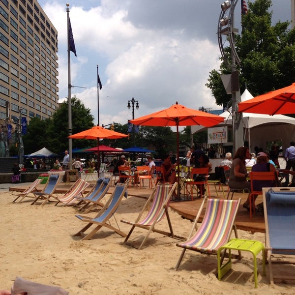 Photo taken at Campus Martius by April M. on 7/10/2013