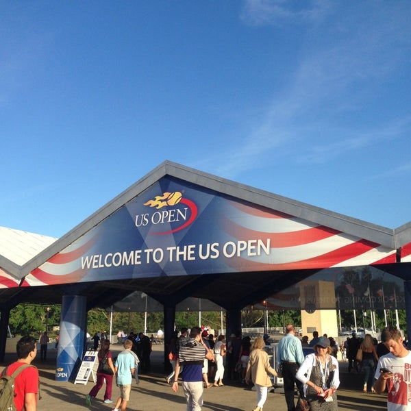 Photo taken at US Open Tennis Championships by Peter G. on 8/29/2014